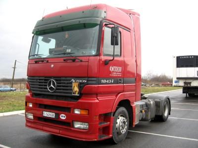 Поступление Mercedes Actros 2002г.